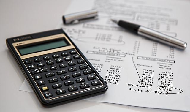 účetní kalkulačka