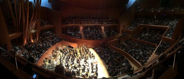 Živost koncertních síní