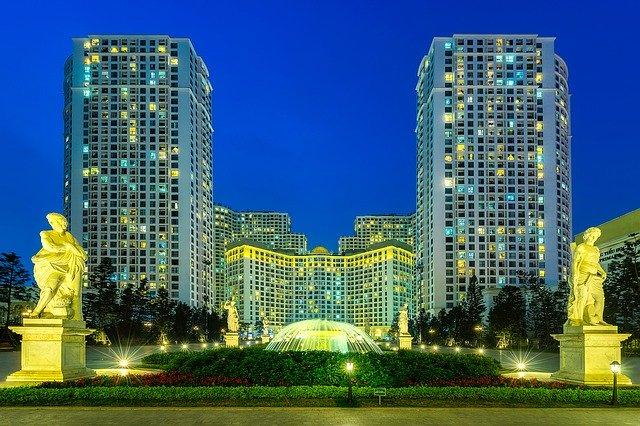 Hanoj městské panorama