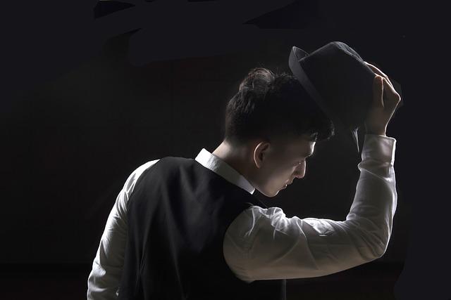 gentleman s kloboukem