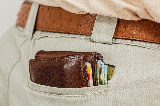 penezenka v kapse